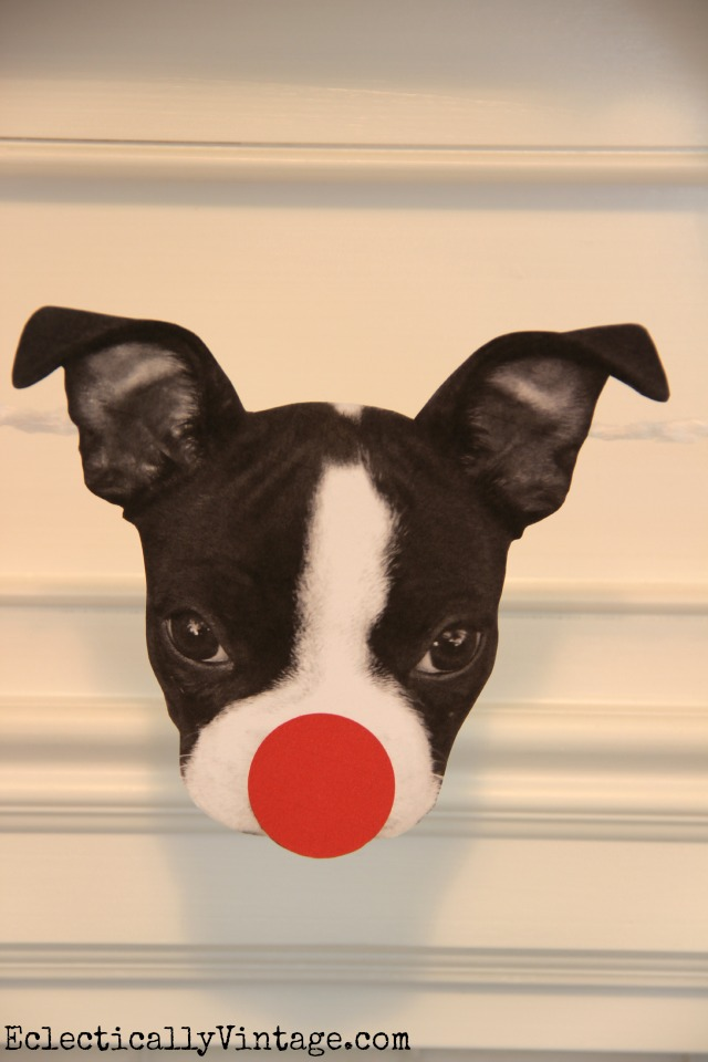 Turn your pet's photo into Rudolph! Easy tutorial shows you how step by step kellyelko.com