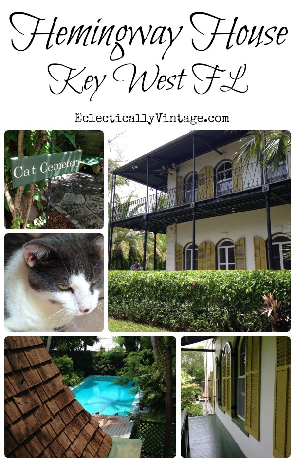 Hemingway House in Key West - what an amazing property! kellyelko.com