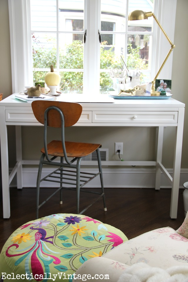 Create a home office nook in any room in your house kellyelko.com
