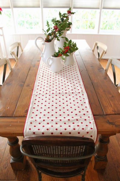 DIY Farmhouse table kellyelko.com