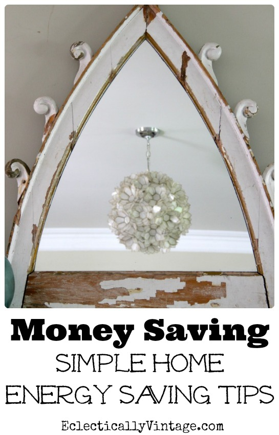 Save Money with these Simple Energy Saving Tips! kellyelko.com