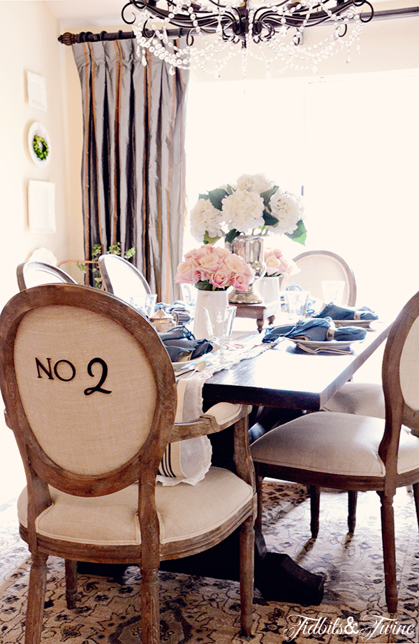 Beautiful farmhouse style dining room kellyelko.com