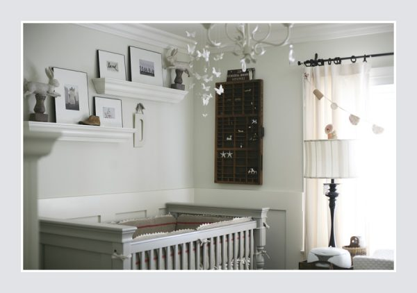 Baby boy nursery - love the vintage touches and neutral colors kellyelko.com