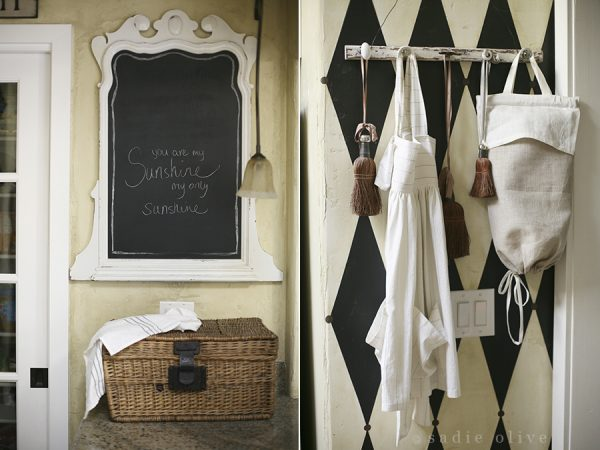 Every kitchen needs a cute framed chalkboard kellyelko.com