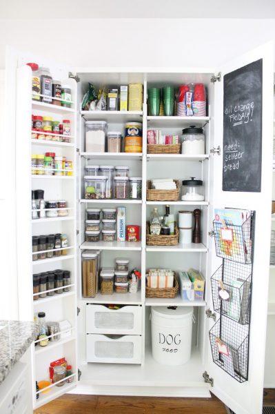 Organized pantry kellyelko.com