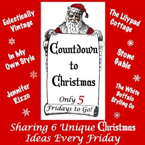 Countdown to Christmas - 6 Creative Christmas Ideas Every Week! kellyelko.com