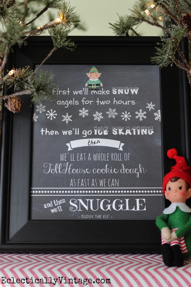 Free-Elf-Movie-Christmas-Printable