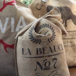 Make Personalized Grain Sacks eclecticallyvintage.com