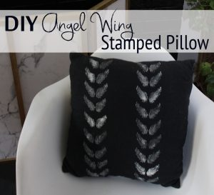 DIY Angel Wing Pillow