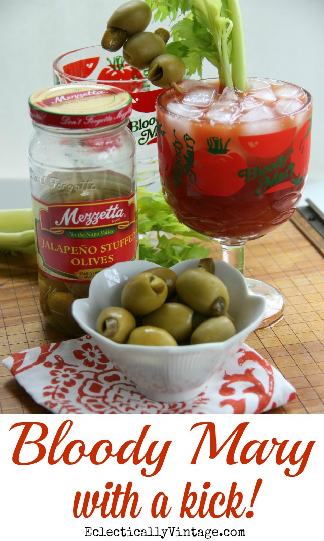 Best Bloody Mary Recipe with a Spicy Kick! kellyelko.com