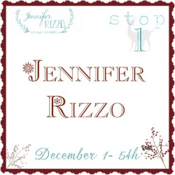 Jennifer Rizzo Christmas House Tour
