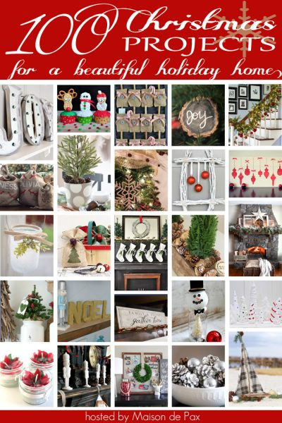 100 Creative Christmas Projects eclecticallyvintage.com