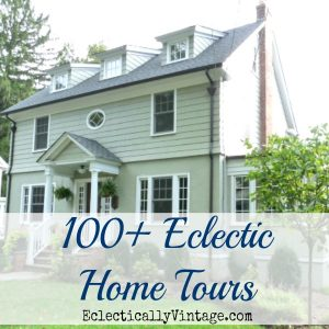 Eclectic Home Tours - so many amazing homes kellyelko.com