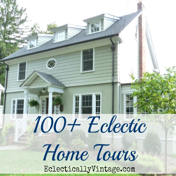 Over 100 Amazing Eclectic Home Tours kellyelko.com