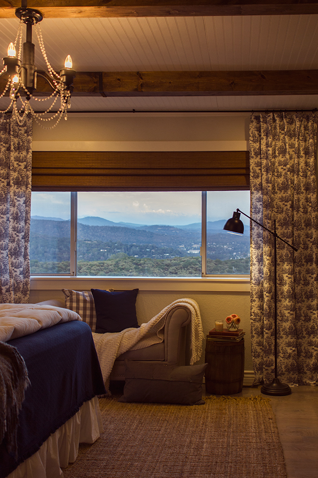 Not sure what is better - this stunning DIY bedroom reno or the view eclecticallyvintage.com