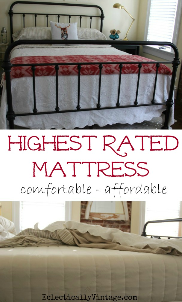Top Rated Mattress is comfortable and affordable! kellyelko.com
