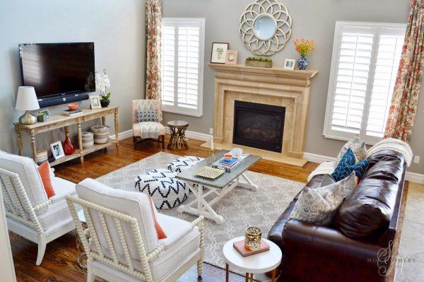 Beautiful family room layout kellyelko.com
