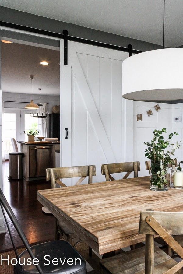 DIY rolling barnwood door kellyelko.com