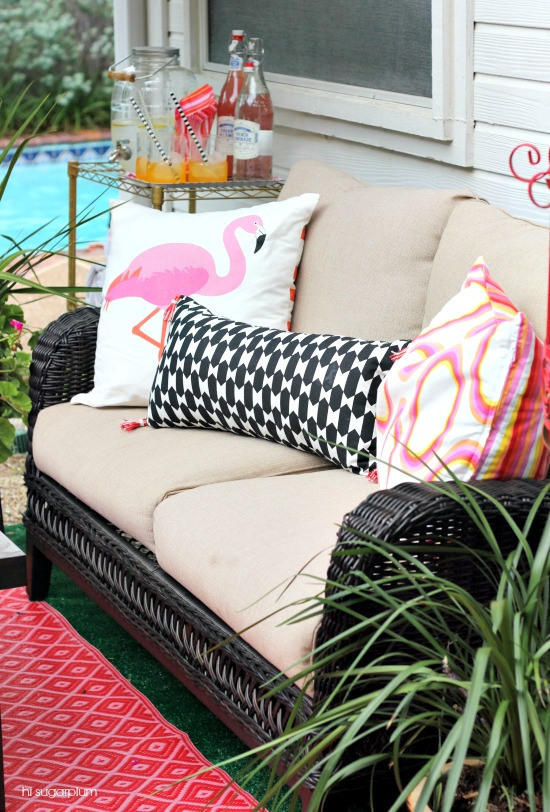 Every patio needs a pink flamingo! kellyelko.com