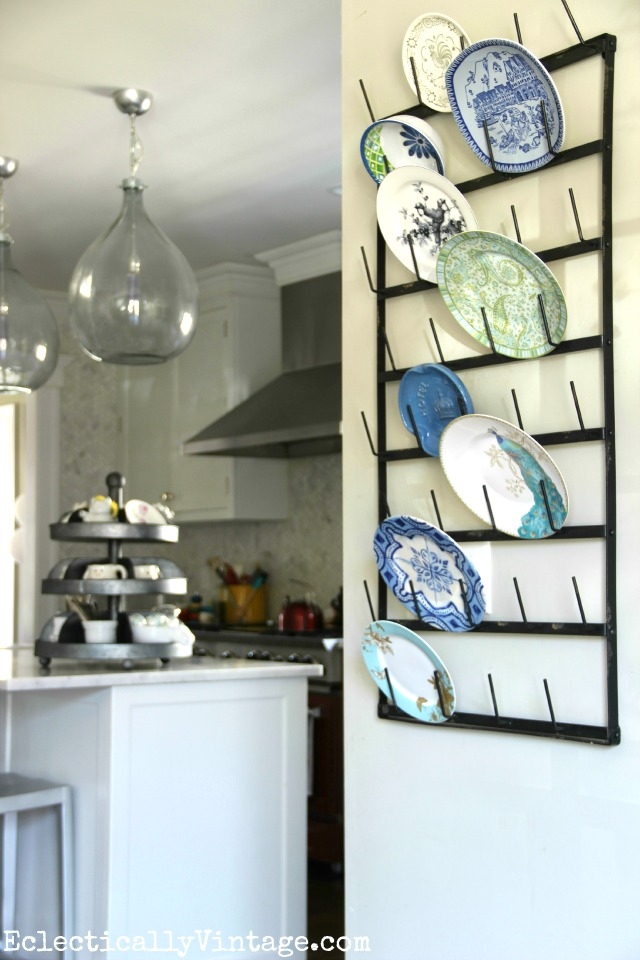 Creative Display Ideas For Wall Bottle Drying Rack
