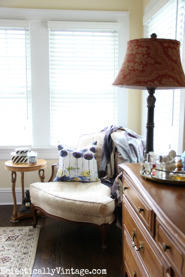 Decorating with Lampshades - see how easy it is to update any lamp with a fun new lamp shade kellyelko.com