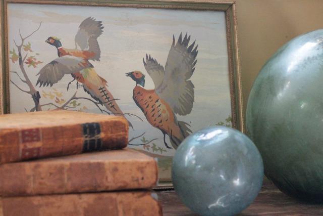 Vintage pheasant paint by number kellyelko.com