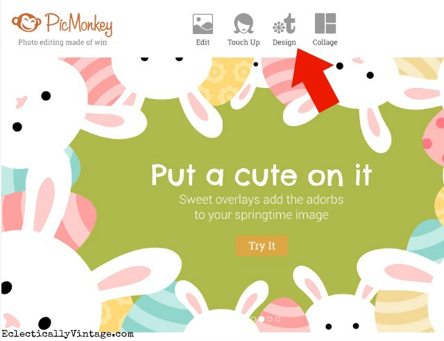 How to make printables using PicMonkey - use this simple step by step tutorial and you'll be creating your own gorgeous printables in no time! kellyelko.com