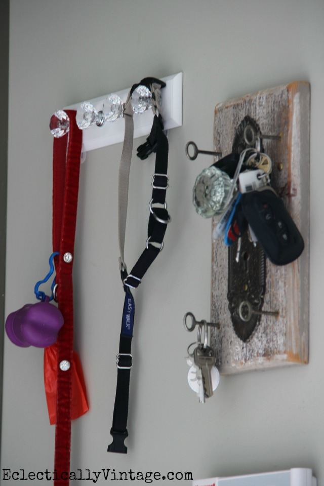 Love the key and leash storage kellyelko.com