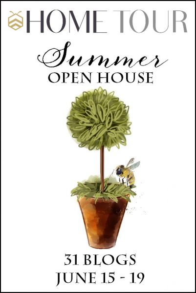 Summer Home Tours - tons of summer decorating ideas eclecticallyvintage.com