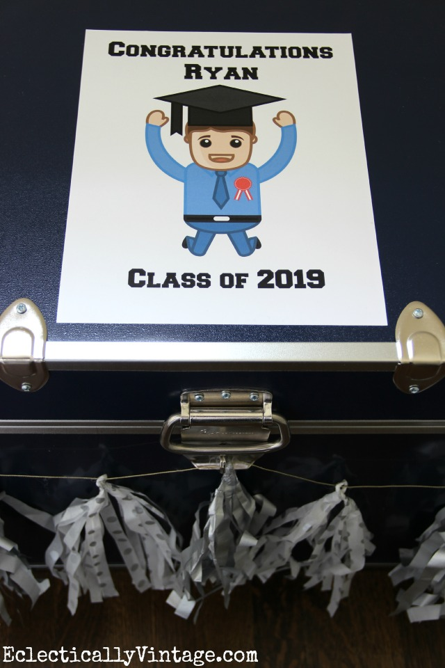 Congratulations Graduate - cute to add to any graduation gift kellyelko.com