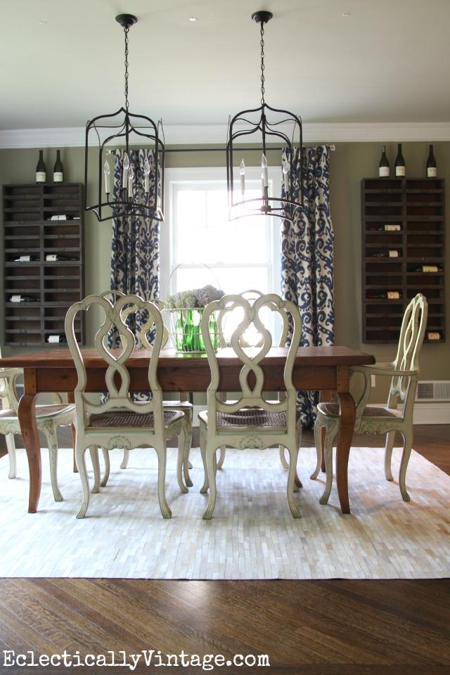 Wine cellar dining room kellyelko.com