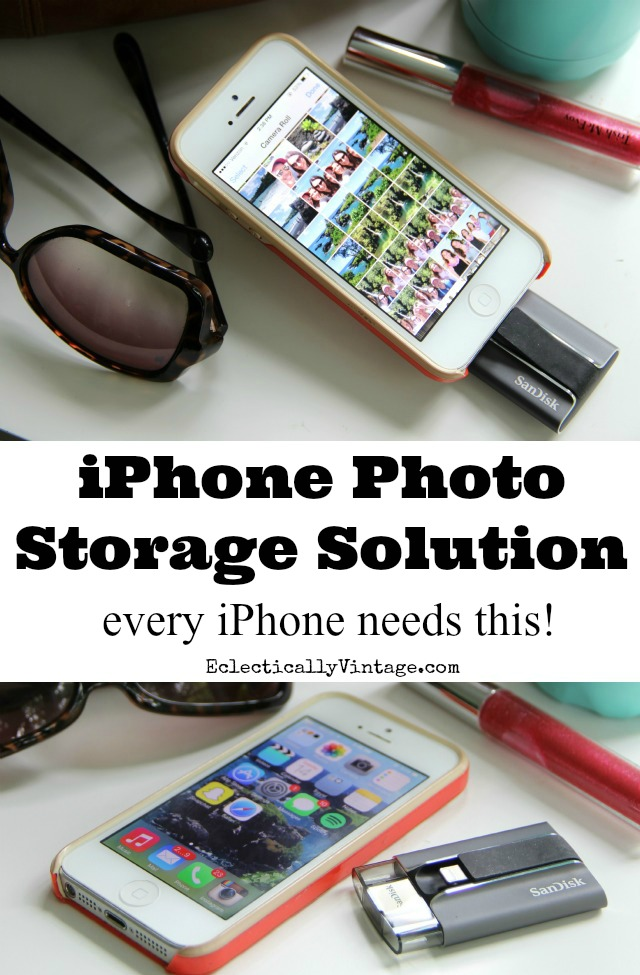 iPhone Photo Storage Solution iXpand review - every iPhone needs this! kellyelko.com