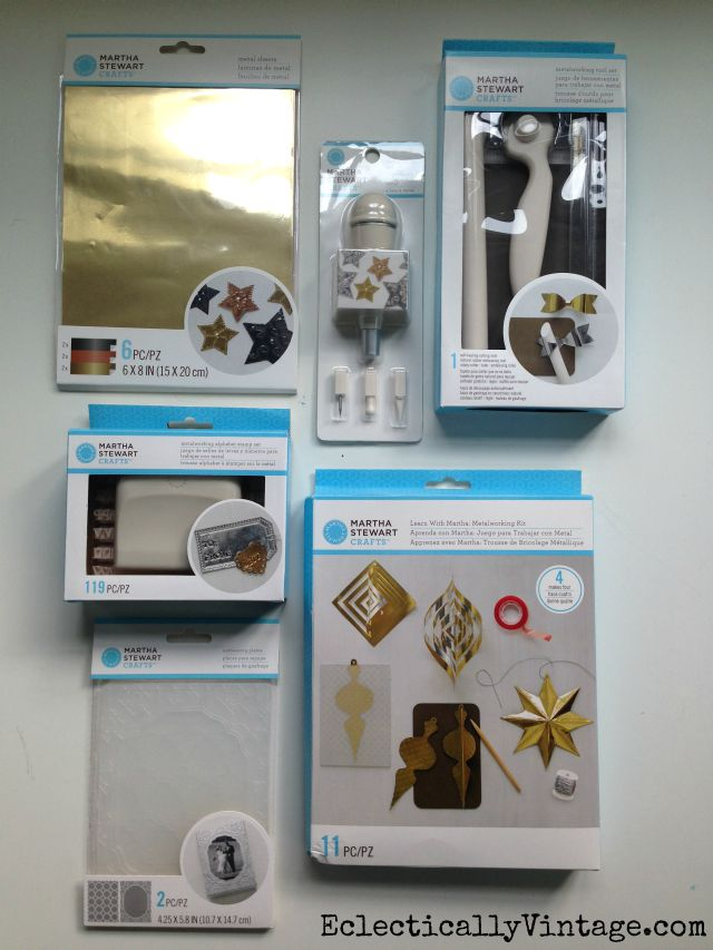 Martha Stewart Metalworking Supplies kellyelko.com