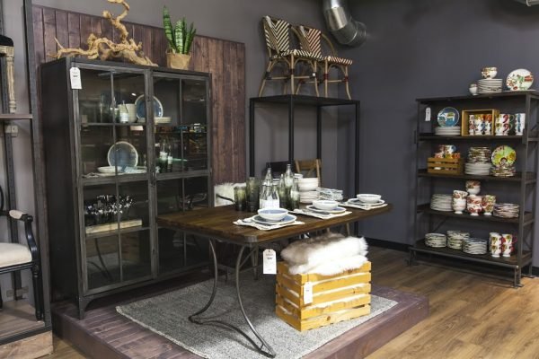 World Market Furniture - love the industrial pieces kellyelko.com