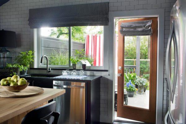 Cottage kitchen - love the subway tile and butcher block island kellyelko.com