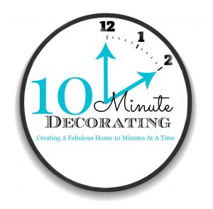 10 MINUTE DECORATING BUTTON