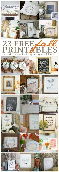 23 Free Fall Printables eclecticallyvintage.com