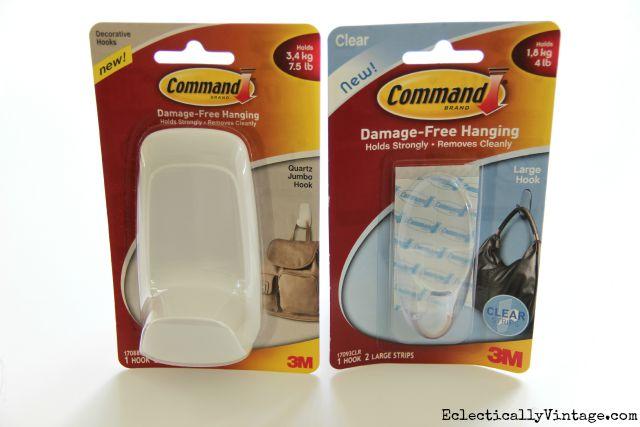 Command hooks kellyelko.com #DamageFreeDIY
