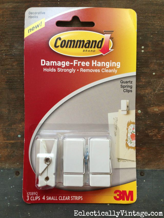 Command Spring Clips