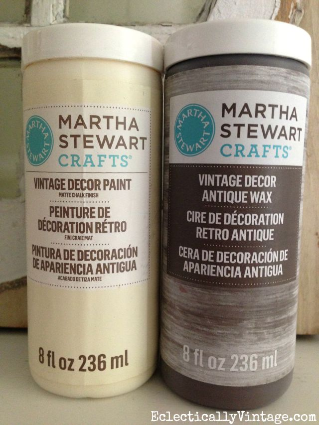Martha Stewart Vintage Decor Paint kellyelko.com