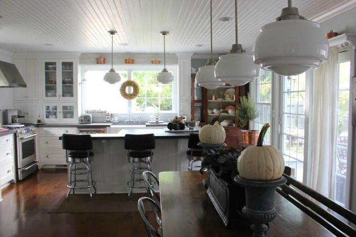 Farmhouse fall kitchen