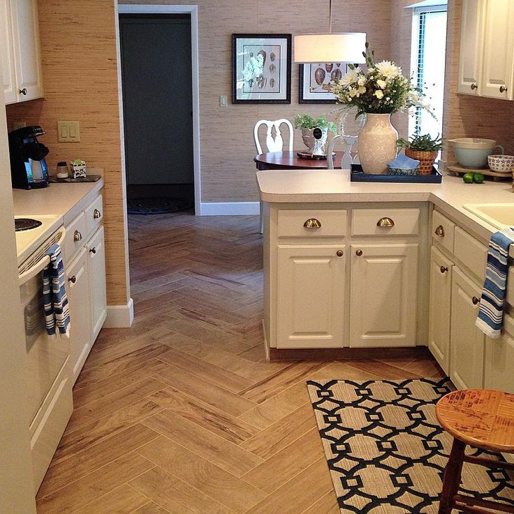 Love the tile that looks like hard wood flooring kellyelko.com