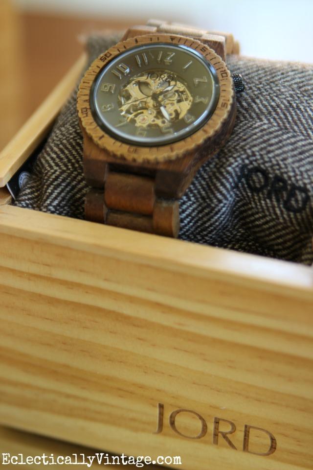 JORD Devon Wood Watch kellyelko.com
