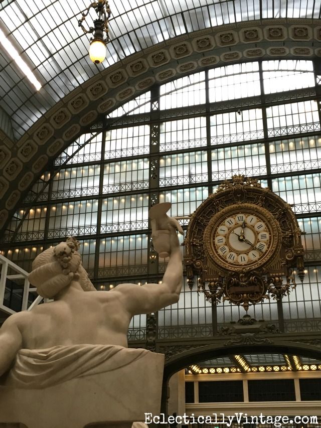 Musee d'Orsay - the most incredible museum in Paris! Love this itinerary for what to see and do (and what to skip) in Paris kellyelko.com