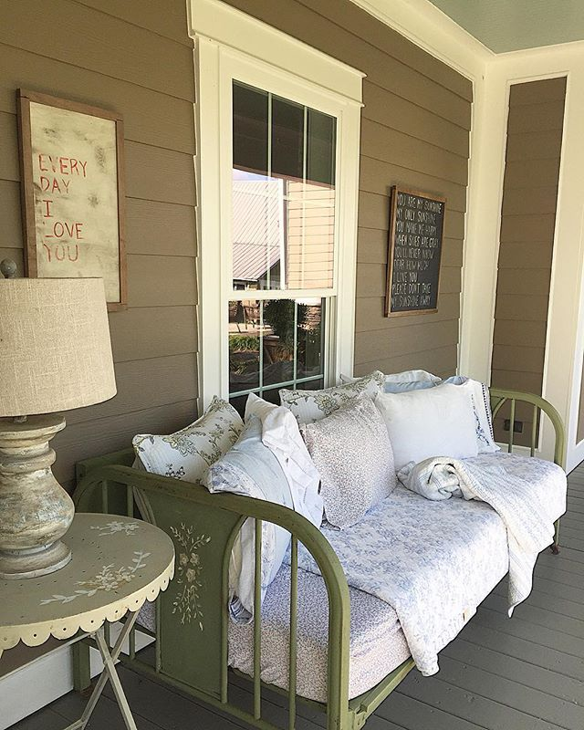 Patio Daybed Sleeping Porch