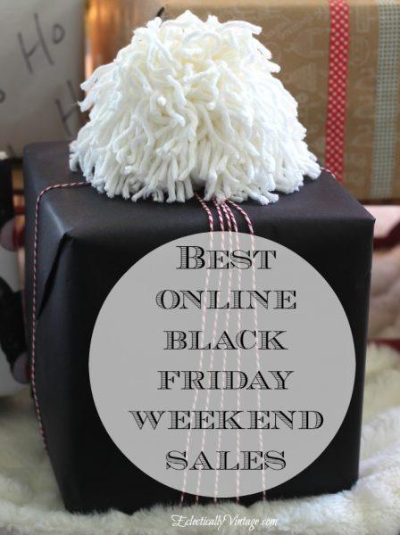 Best Online Black Friday Sales eclecticallyvintage.com