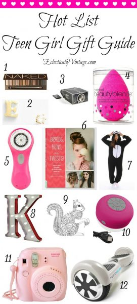 Teen Girl Gift Guide eclecticallyvintage.com