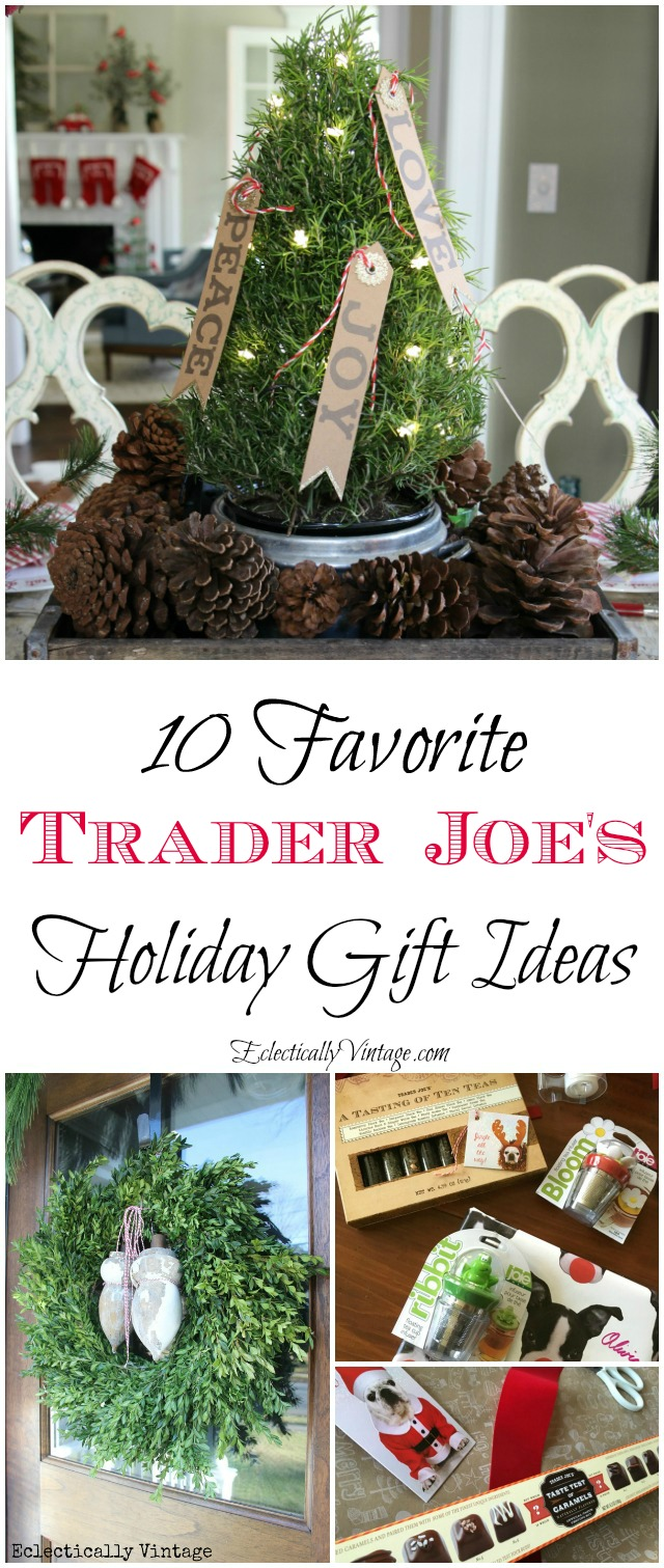 10 Favorite Trader Joe's Gift Ideas kellyelko.com
