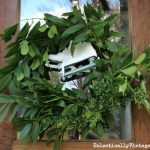 DIY Fresh Greens Wreath eclecticallyvintage.com