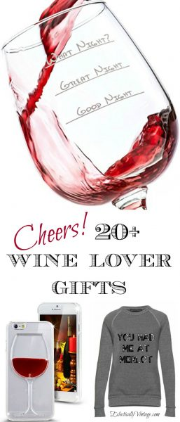Creative Wine Gift Ideas eclecticallyvintage.com